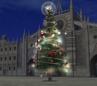 2015.12.28セビリアの街の大きなツリー♪