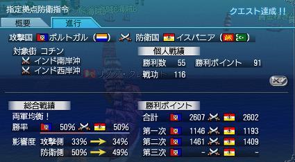 2012.3.21大海戦2日目結果