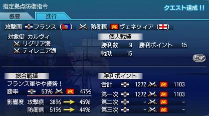 2007.7.30大海戦1日目結果