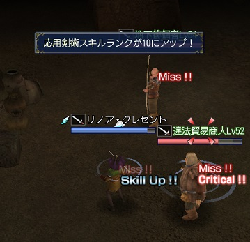 2013.11.30応用剣術スキルがR10にアップ♪